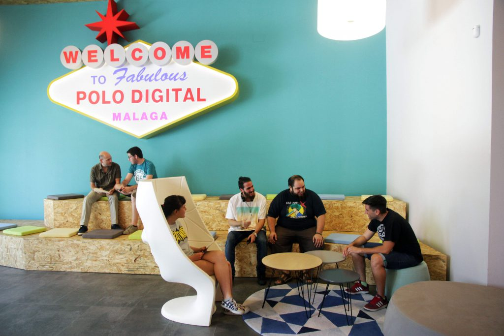 polo digital malaga startups