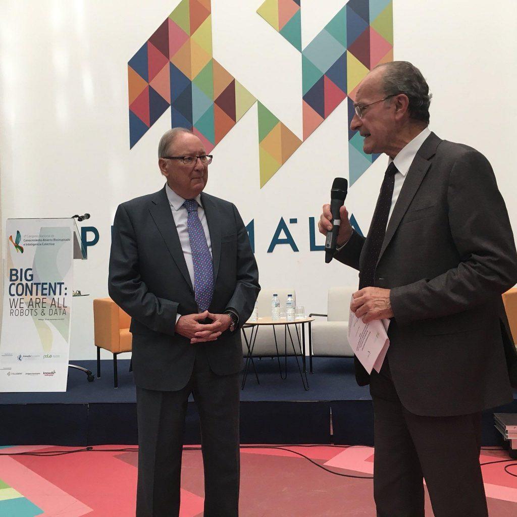 Alcalde Málaga y Rodolfo Carpintier